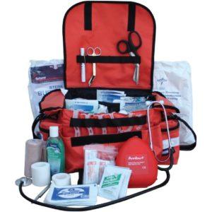 Reconocimiento de material y uso adecuado de Botiquín de primeros auxilios